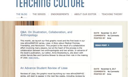 Blog on Teaching Culture
